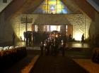 23 lutego - Msza św. za zmarłych, procesja na cmentarz