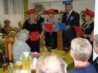 Emerytowani nauczyciele z wizytą w Klubie Seniora