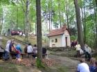 Kapliczka Leśna - msza wrzesień '2014