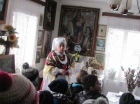 W Brzezince z widokiem na Groń Jana Pawła II
