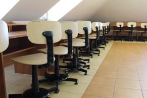 Sala Komputerowa I Biblioteka Już Po Remoncie łazienki